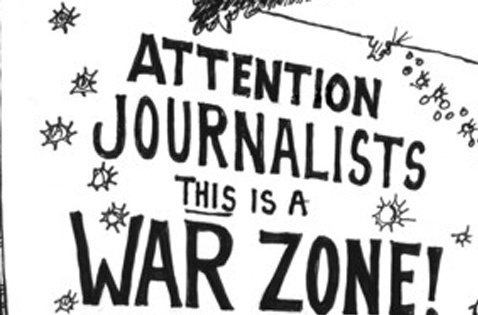 Attention!! the War has started between print and web journalism