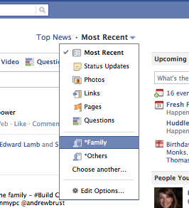 how to set up your newsfeed on facebook