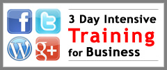 3 Day Social Media Training Intensive Advanced