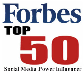 Forbes Top 50 social media influencer keynote
